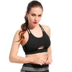 ad62662790 Sport Yoga Top Bra. Outdoor YogaWorkout TopsWorkout WearBra ...