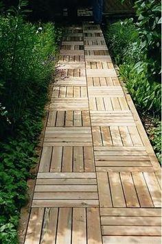 natural landscaping ideas, wooden garden paths #GardenPath