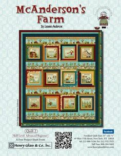 McAnderson's Farm - Quilt 2 by Leanne Anderson of The Whole Country Caboodle