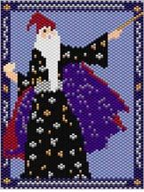 The Wizard's Spell Pattern by Sigrid Wynne-Evans at Bead-Patterns.com