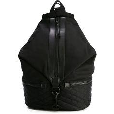 Rebecca Minkoff Julian Sport Backpack ($242) ❤ liked on Polyvore featuring bags, backpacks, black, rebecca minkoff bags, day pack backpack, rebecca minkoff backpack, sport bag and sporting bags