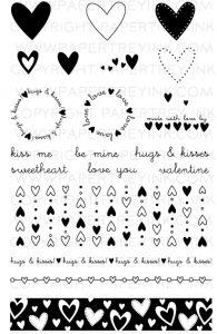 Simple Valentine Stamp Set