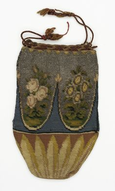 Woman's Reticule Probably France, circa 1800