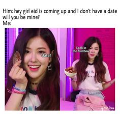 You date is not rose Hey Girl, That Look, Dating, Memes, Rose, Quotes, Pink, Roses, Relationships