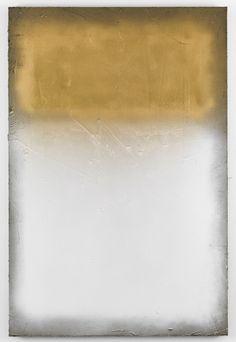 Marc Bijl - Afterburner (After Rothko) White Gold Top, 2013.