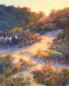 Coastal Flora at Sunset by Kim Lordier Pastel ~ 20 x 16