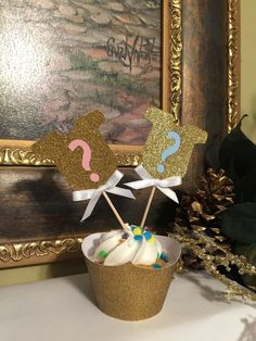Baby Shower Themes – Plan My Bash >>> You can get more details by clicking on the image. Gender Reveal Cupcakes, Gender Reveal Party Decorations, Baby Shower Decorations, Party Themes, Golf Party Favors, Baby Shower Themes, Shower Ideas, Reveal Parties, Perfect Party