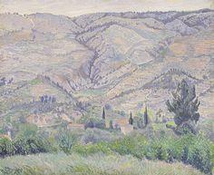 Le Ragas Near Toulon, Camille Pissarro