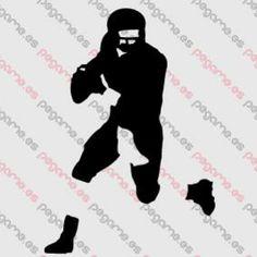 Pegame.es Online Decals Shop  #sport #american_football #vinyl #sticker #pegatina #vinilo #stencil #decal