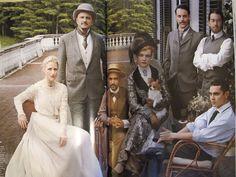 Ciao Domenica: Edith Wharton in Voguevintage Ralph Lauren blouse and Lanvn duchese silk skirt