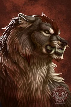 Werewolf the Apocalypse. A Red Talon in crinos. Other tribes: Black FurySilver FangUktenaSilent StriderStargazer Red Talon Werewolf Art, Very Nice Pic, Love Backgrounds, Creature Drawings, Goddess Art, World Of Darkness, Pastel Art, Dark Ages, Furry Art
