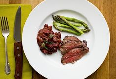 Basque Style Meat Marinade and Roasted Lamb Sirloin