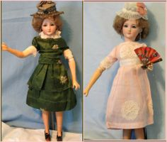 Rare German Simon & Halbig Fashion Doll w Extensive Trousseau & from heirloomdolls on Ruby Lane