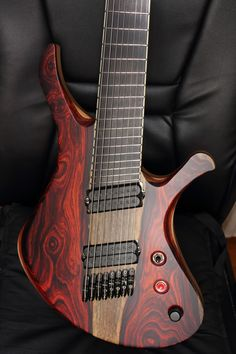 8 string fan fret. Love the grain and coloring!