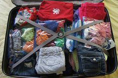 Tips to help you pack efficiently when flying with kids