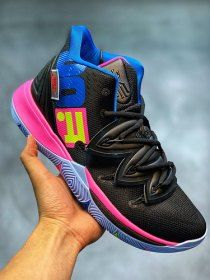 316243740766 Nike Kyrie 5 Black Pink Multi-Colour Men s Basketball Shoes Irving Sneakers  Kyrie Basketball