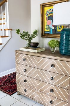 A geometric statement perfect for any entryway | Scout & Nimble