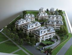 residential model of Wroclaw