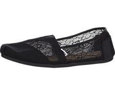 Toms Women's Classic Black Casual Shoe 7.5 Women US