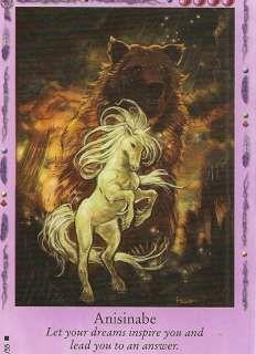 BELLA SARA TRADING CARD # 29/55*ANISINABE*NATIVE LIGHTS