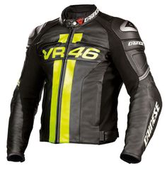 Dainese VR46 Leather Jacket - Front
