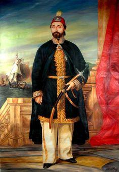 Abdülmecit 1839 - Portrait by Rupen Manas (Rubens Manasie) Reproduction by Metin Asağ - Sultan Ottoman, Turkey History, Islam, Recent Events, Ottoman Empire, Moorish, Oil On Canvas, Istanbul, Portrait