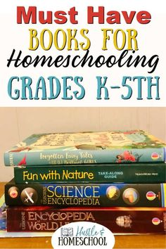 Build a wonderful home library to make homeschooling grades K through 5 easier! These beautiful books will allow your kids to dive deep into subjects they are interested in while also covering key topics that you will refer to throughout the elementary years. These are perfect to use alongside curriculum or as the main text for teaching a topic! Plus get recommendations for the best story book collection. Elementary homeschooling | homeschool kindergarten | new homeschoolers Kindergarten Science Experiments, Kindergarten Reading Activities, 1st Grade Science, Homeschool Kindergarten, Homeschool High School, First Grade Math, Book Activities, Homeschooling First Grade, Secular Homeschool Curriculum