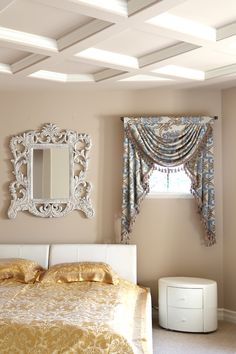 Picture Of Masquerade Ball   Classic Overlapping Swags And Jabots Drape Set  · Valance CurtainsValancesElegant ...