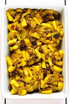 Vegetarische boboti • Proeven met liefde Chicken Wings, Meat, Food, Africa, Essen, Meals, Yemek, Eten, Buffalo Wings