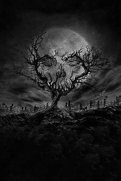 Trendy Ideas For Dark Art Tattoo Ideas Grim Reaper Illusion Kunst, Illusion Art, Dark Fantasy Art, Arte Horror, Horror Art, Art Sinistre, Graveyard Tattoo, Grim Reaper Art, Grim Reaper Tattoo