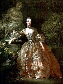 Portrait of Madame de Pompadour, 1759, Francois Boucher
