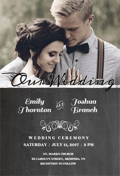 Our Wedding - Free Printable Wedding Invitation Template | Greetings Island