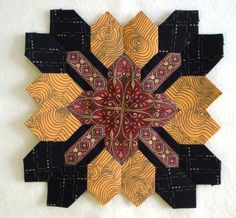 Block 7 by Muriel for the POTC Blog Along at Little Quilts.