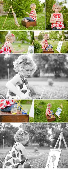 session idea for kids | erica clark photography