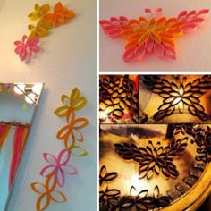 Como fazer decorações fantásticas a partir de rolos de papel higiênico – Um pouco de tudo