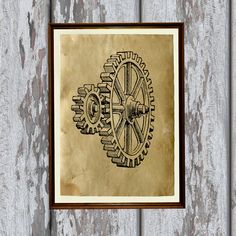 Hey, I found this really awesome Etsy listing at https://www.etsy.com/listing/128964041/antique-gears-decor-steampunk-art