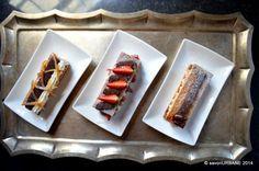 Mille feuille Napoleon in 3 variante Dessert Recipes, Desserts, Napoleon, Waffles, Caramel, Sweets, Urban, Breakfast, Food