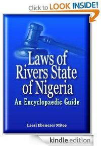 Resources on Nigerian law, including Nigerian Constitution,Nigerian legislation, Nigerian eBooks (e-Books), Nigerian law eBooks (e-Books), Nigerian law books, Nigerian law articles (Nigerian legal articles), Nigerian legal education, Nigerian legal system