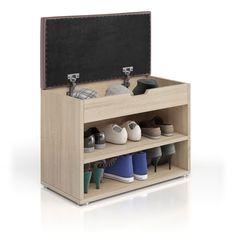 zapatero banco zapatero estante asiento banco estante cajón 6 pares de zapatos 5