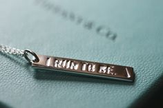 The Nike Women's Marathon in San Francisco hands out Tiffany necklaces to finishers...yes, please.