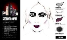 Star Wars   Covergirl   tumblr   futuristic   Halloween inspiration   costume idea   STORM TROOPER   makeup
