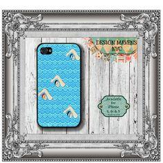 Swim Meet iPhone Case, Hard Plastic iPhone Case, Fits iPhone 4, iPhone 4s & iPhone 5, Phone Cover, Phone Case
