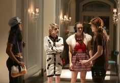 """Zayday, Chanel, Chanel #3 and Grace in the first part of the two-hour Scream Queens season finale """"Dorkus"""""""
