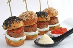 Hamburguesas mini con especias de Estambúl