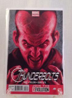MARVEL THUNDERBOLTS # 003 COMIC BOOK Way Dillon Guru Direct Edition Marvel Now  | eBay