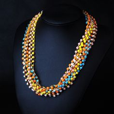 WHOLESALE FASHION JEWELRY ACCESSORIES NEW DESIGN LADY LUXURY MULTI RESIN MIXED CRYSTAL BIB STATEMENT NECKLACE COLLAR