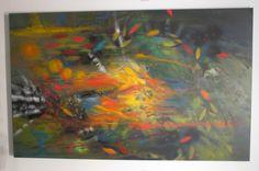 Nacido del fuego Óleo sobre lienzo 200 x 124 cms 2008 - 2013