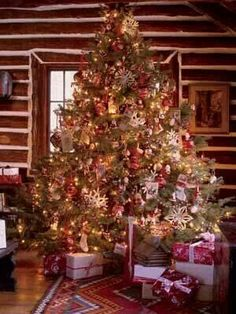 Christmas Tree Ideas For Christmas Christmas Tree Fashion - Old fashioned christmas decorating ideas