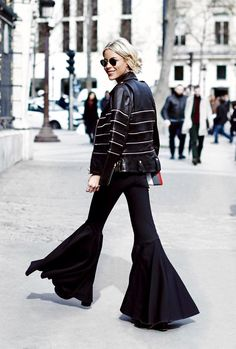 The Pants Fashion Bloggers Have Been Ditching Their Jeans For via @WhoWhatWearUK