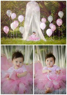 first birthday photos Happy 1st Birthday Princess, Baby First Birthday, Girl Birthday, Princess Party, 1st Birthday Pictures, Birthday Ideas, 1st Birthday Photoshoot, Baby Girl Photos, Girl Pics